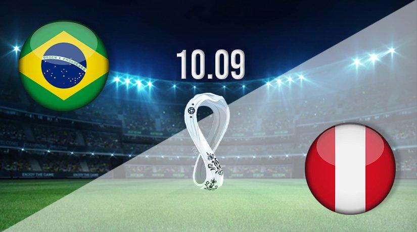 Brazil vs Peru Prediction: World Cup Qualifying Match on 10.09.2021