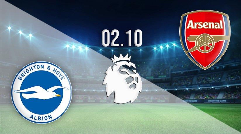 Brighton vs Arsenal Prediction: Premier League Match on 02.10.2021