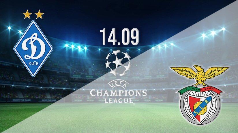 Dynamo Kyiv vs Benfica Prediction: Champions League on 14.09.2021