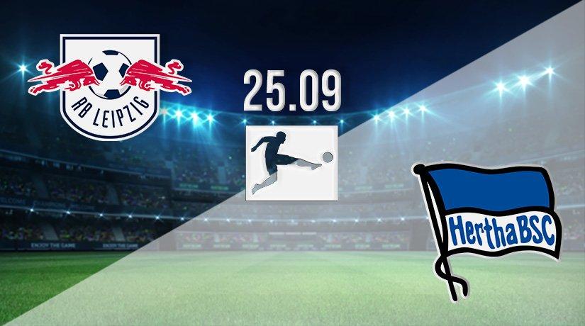 RB Leipzig vs Hertha Berlin Prediction: Bundesliga Match on 25.09.2021