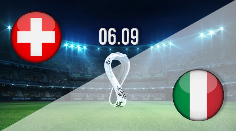 Switzerland vs Italy Prediction: World Cup Qualifying Match on 06.09.2021