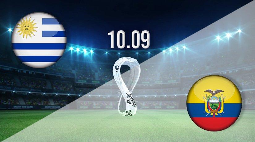 Uruguay vs Ecuador Prediction: World Cup Qualifying Match on 10.09.2021