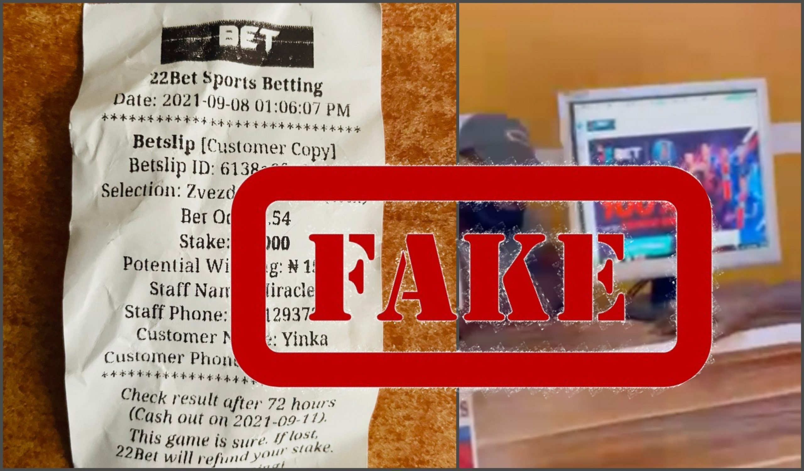 Police Raid Fake 22Bet Betting Shop in Isolo Market in Lagos
