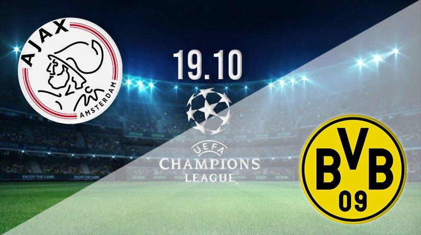 Ajax v Borussia Dortmund Prediction: Champions League Match on 19.10.2021