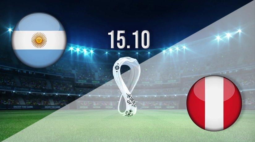 Argentina vs Peru Prediction: World Cup Qualifier on 15.10.2021
