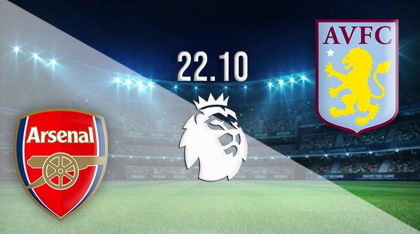 Arsenal vs Aston Villa Prediction: Premier League Match on 22.10.2021