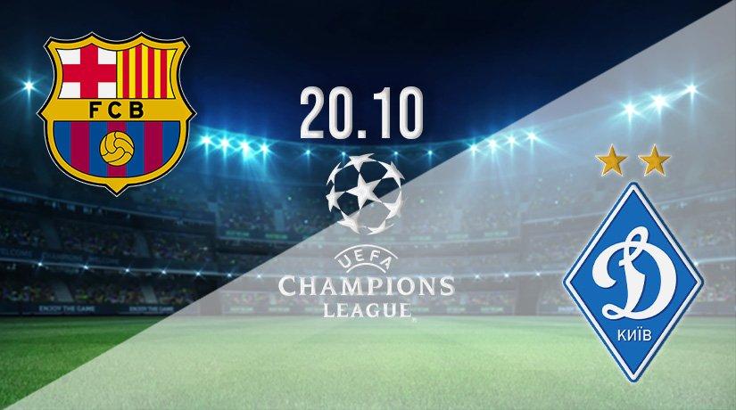 Barcelona vs Dynamo Kyiv Prediction: Champions League Match on 20.10.2021