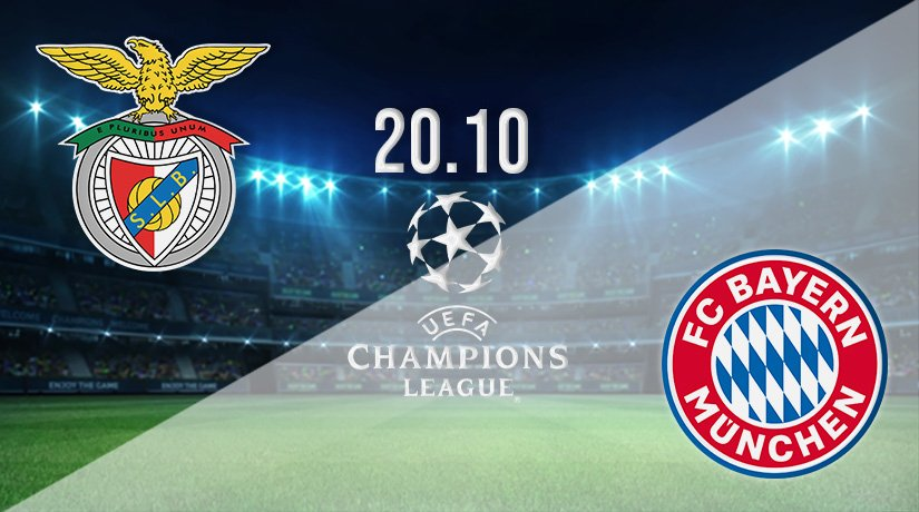 Benfica v Bayern Munich Prediction: Champions League Match on 20.10.2021