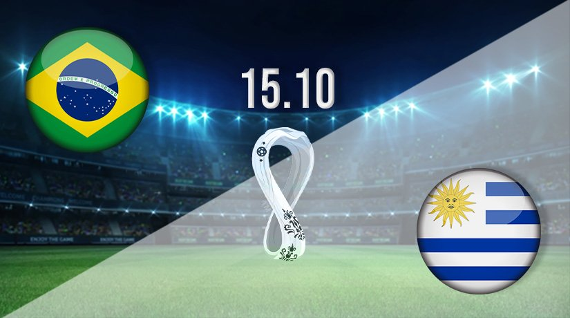 Brazil vs Uruguay Prediction: World Cup Qualifier on 15.10.2021