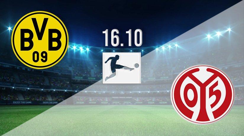 Borussia Dortmund vs Mainz Prediction: German Bundesliga Match on 16.10.2021