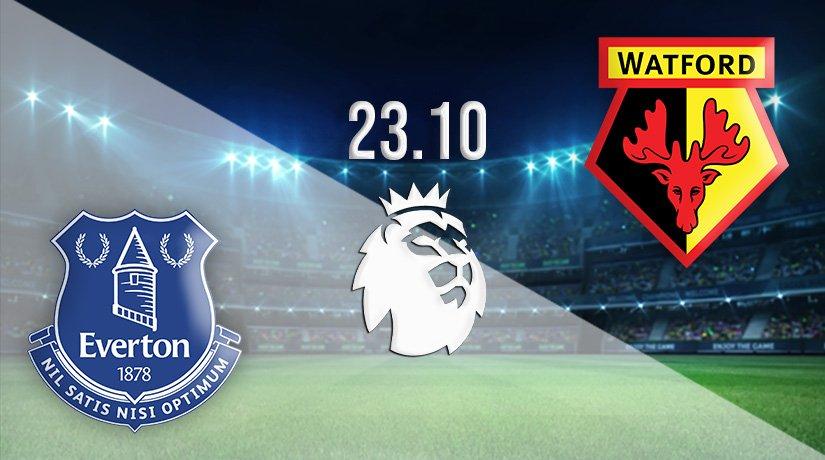 Everton vs Watford Prediction: Premier League Match on 23.10.2021