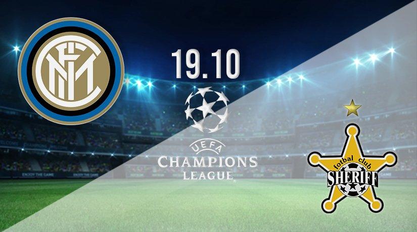 Inter Milan vs Sheriff Prediction: Champions League Match on 19.10.2021