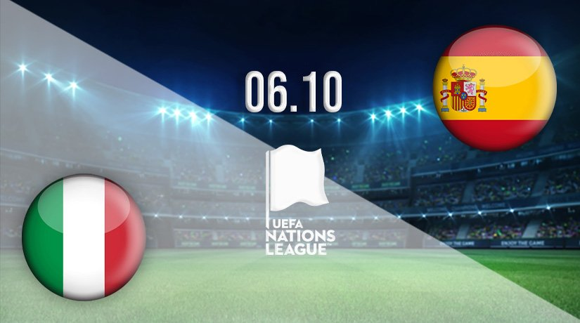 Italy v Spain Prediction: Nations League Match on 06.10.2021