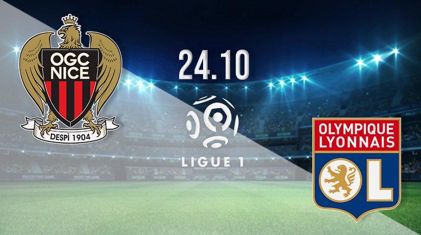 Nice vs Lyon Prediction: Ligue 1 Match on 24.10.2021