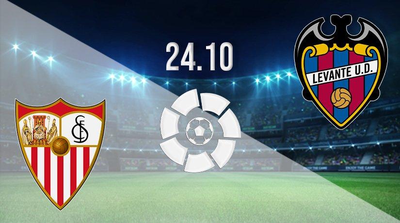 Sevilla vs Levante Prediction: La Liga Match on 24.10.2021