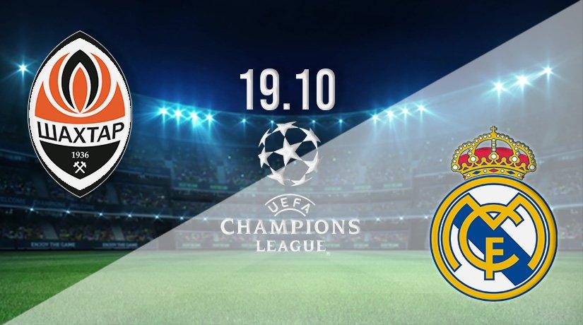 Shakhtar Donetsk vs Real Madrid Prediction: Champions League Match on 19.10.2021