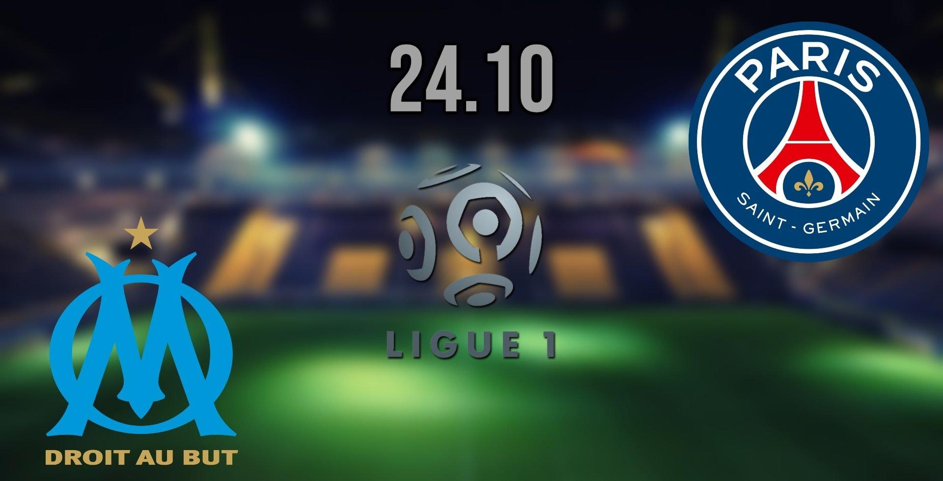 Marseille vs PSG Prediction: Ligue 1 Match on 24.10.2021